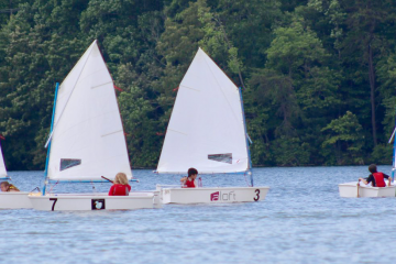 Beginner sailing lessons
